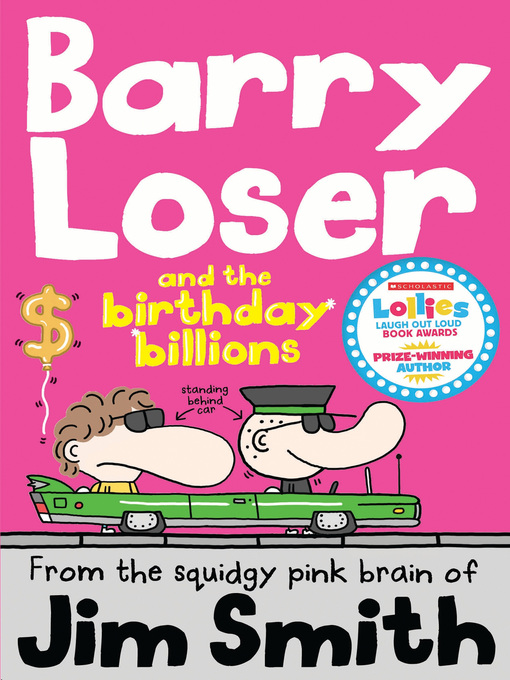 Cover image for Barry Loser and the birthday billions