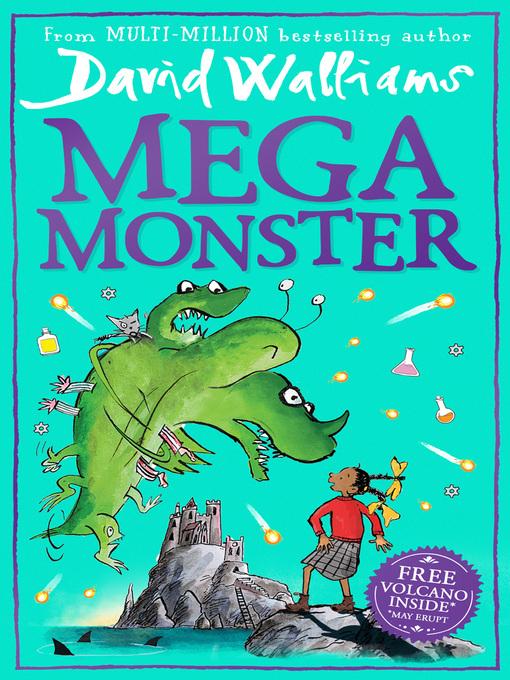Title details for Megamonster by David Walliams - Wait list