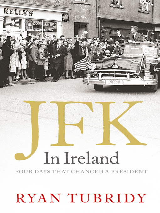 Cover of JFK in Ireland