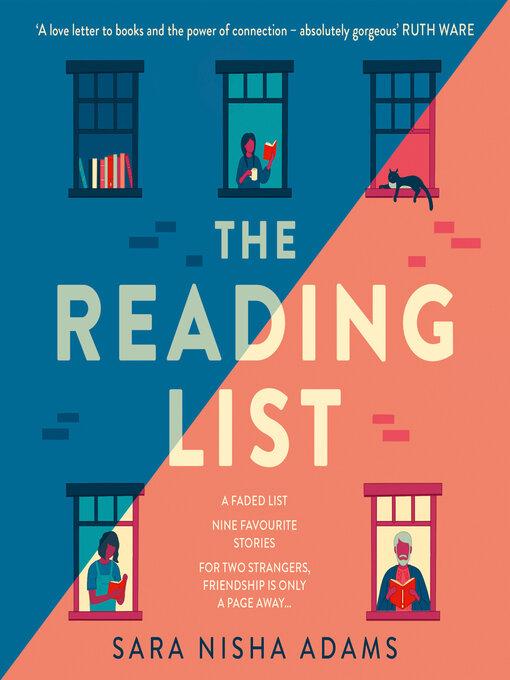 Title details for The Reading List by Sara Nisha Adams - Wait list