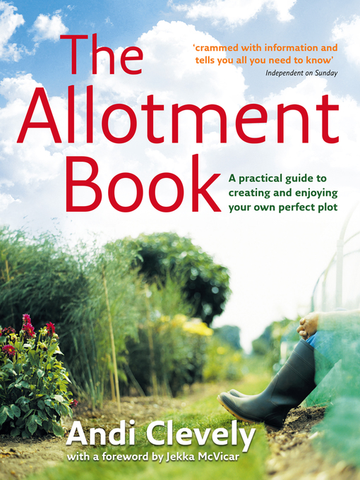 Title details for The Allotment Book by Andi Clevely - Available
