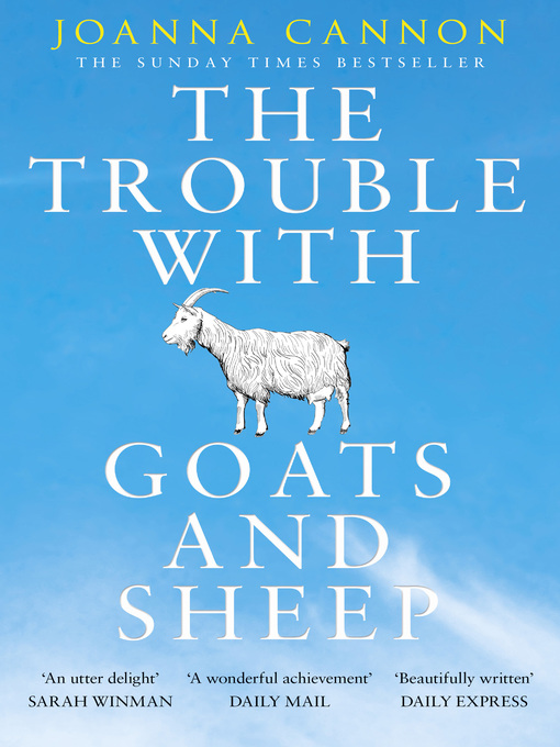 Title details for The Trouble with Goats and Sheep by Joanna Cannon - Wait list