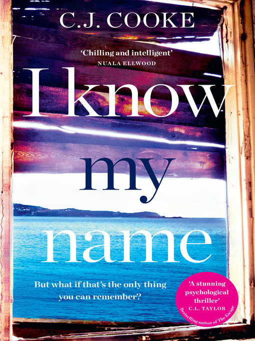 Title details for I Know My Name by C.J. Cooke - Available