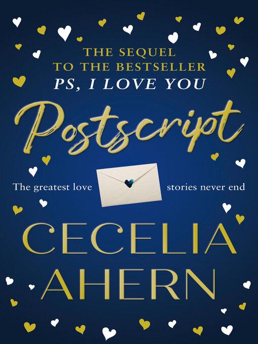 Title details for Postscript by Cecelia Ahern - Wait list