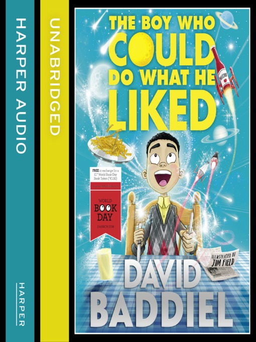 Title details for The Boy Who Could Do What He Liked by David Baddiel - Wait list