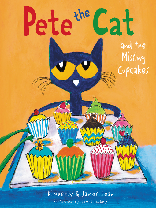 Cover of Pete the Cat and the Missing Cupcakes