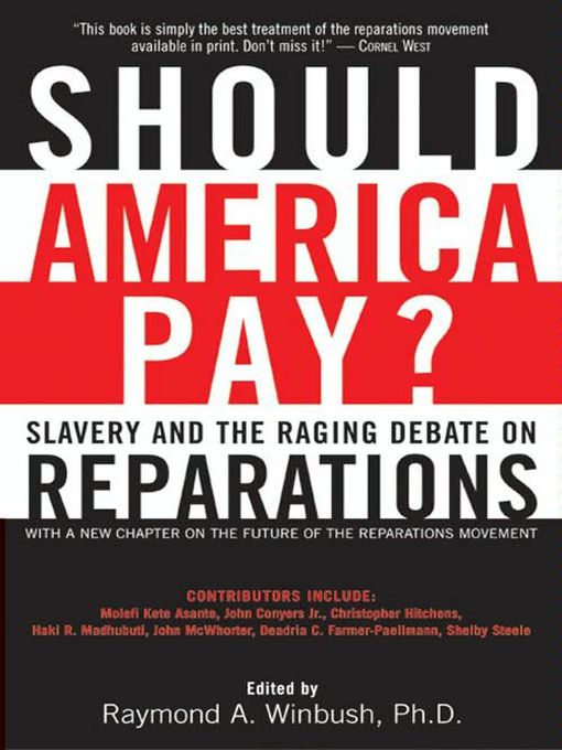 an argument against slavery reparations in the us