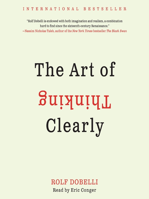 Cover of The Art of Thinking Clearly