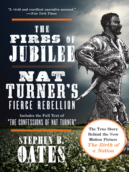 the portrayal of the 1830s slave rebellion in stephen oates fires of jubilee Hold slaves and the differences they discovered were legion, from the planter's adoption of a lavish lifestyle to the absence of a jubilee year.