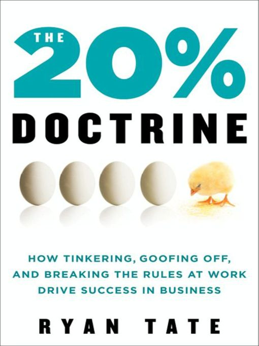 Title details for The 20% Doctrine by Ryan Tate - Available