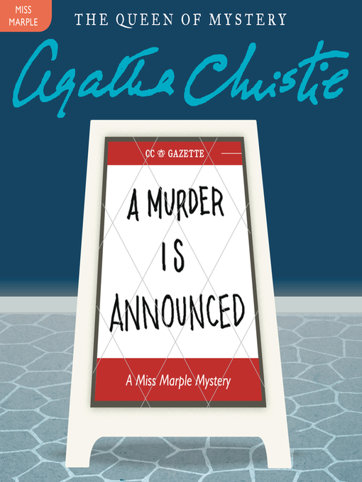 Title details for A Murder Is Announced by Agatha Christie - Wait list