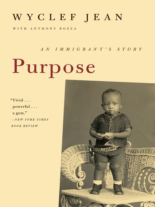 Title details for Purpose by Wyclef Jean - Wait list