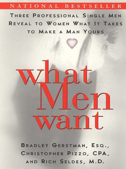 Cover of What Men Want