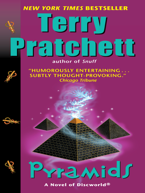 Title details for Pyramids by Terry Pratchett - Wait list
