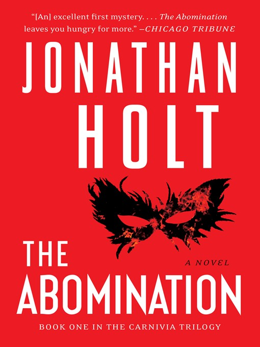 Title details for The Abomination by Jonathan Holt - Available