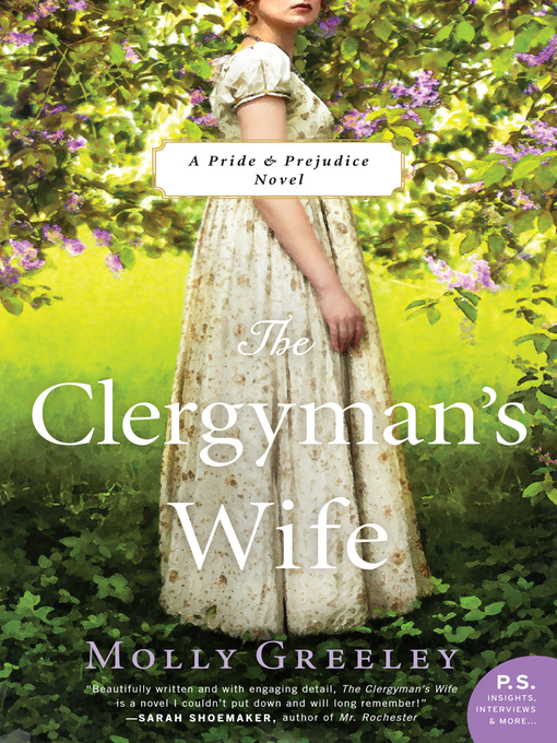 Title details for The Clergyman's Wife by Molly Greeley - Available