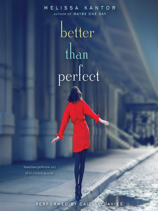 Cover of Better Than Perfect