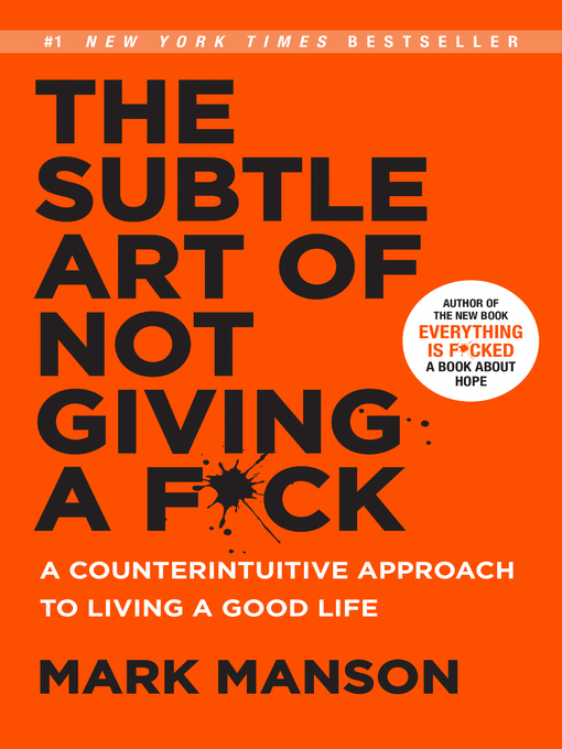 Title details for The Subtle Art of Not Giving a F*ck by Mark Manson - Available
