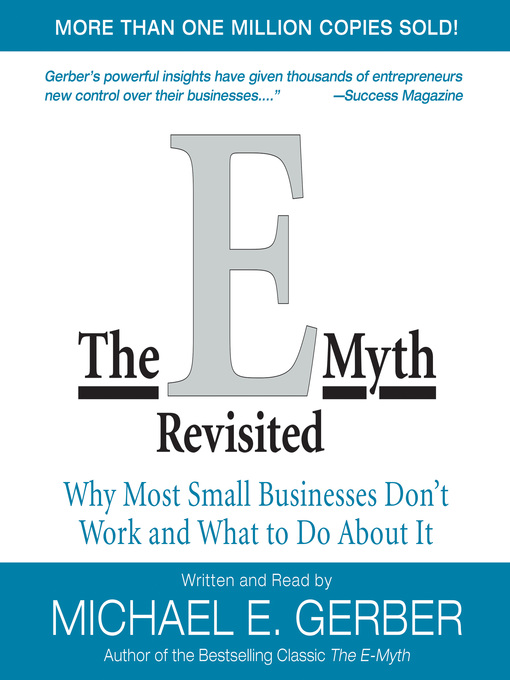 Title details for The E-Myth Revisited by Michael E. Gerber - Available