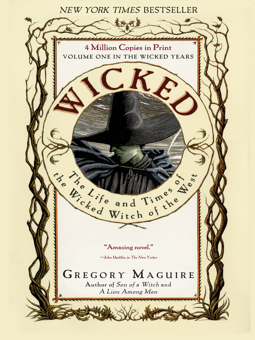 Title details for Wicked by Gregory Maguire - Wait list