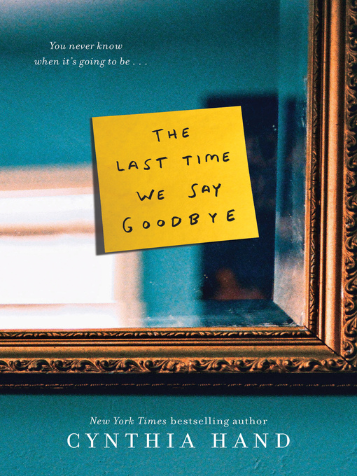 Cover of The Last Time We Say Goodbye