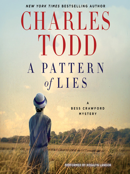 Title details for A Pattern of Lies by Charles Todd - Wait list