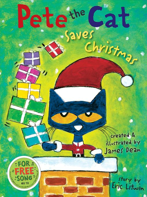 Cover of Pete the Cat Saves Christmas