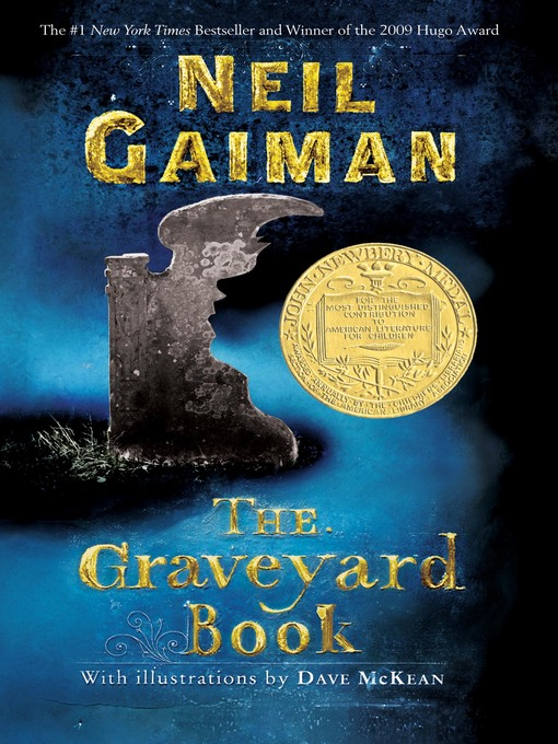 Cover image for book: The Graveyard Book