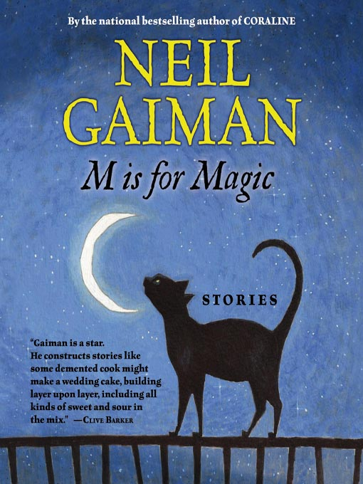 Title details for M is for Magic by Neil Gaiman - Wait list
