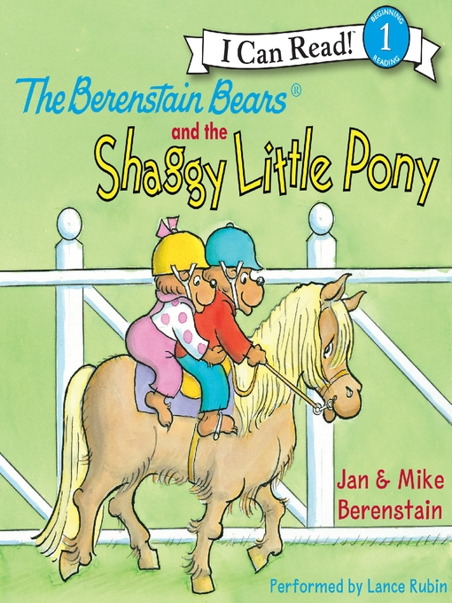 Cover image for The Berenstain Bears and the Shaggy Little Pony