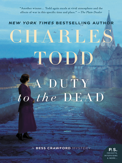 Title details for A Duty to the Dead by Charles Todd - Wait list