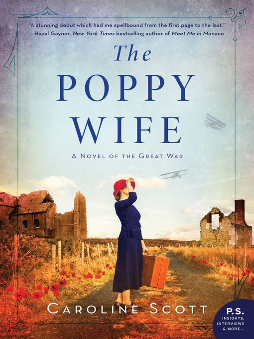Title details for The Poppy Wife by Caroline Scott - Available