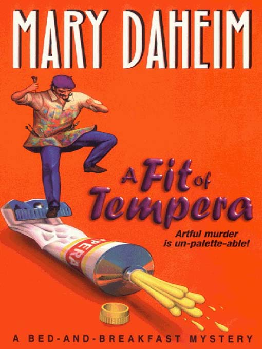 Title details for A Fit of Tempera by Mary Daheim - Wait list