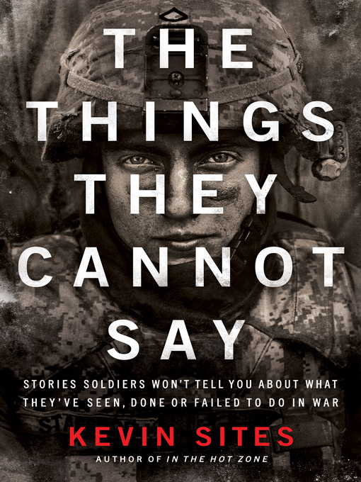 Cover of The Things They Cannot Say