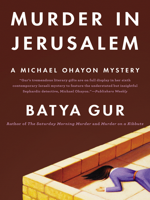 Cover of Murder in Jerusalem