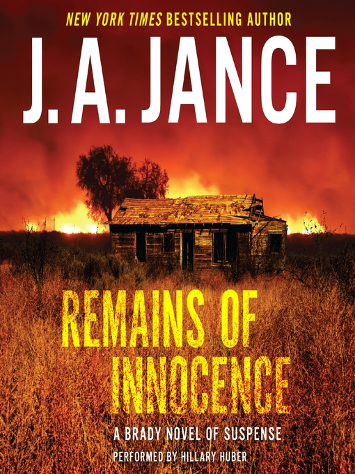Title details for Remains of Innocence by J. A. Jance - Wait list