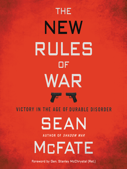 Title details for The New Rules of War by Sean McFate - Available