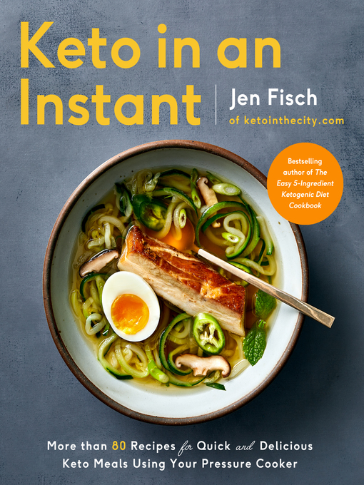 Title details for Keto in an Instant by Jen Fisch - Available