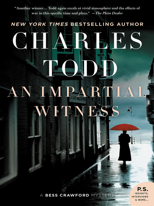 Title details for An Impartial Witness by Charles Todd - Wait list