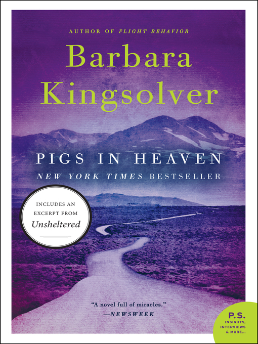 Title details for Pigs in Heaven by Barbara Kingsolver - Wait list