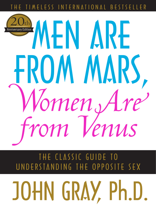 Title details for Men Are from Mars, Women Are from Venus by John Gray - Wait list