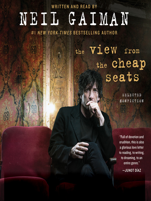 Title details for The View from the Cheap Seats by Neil Gaiman - Wait list