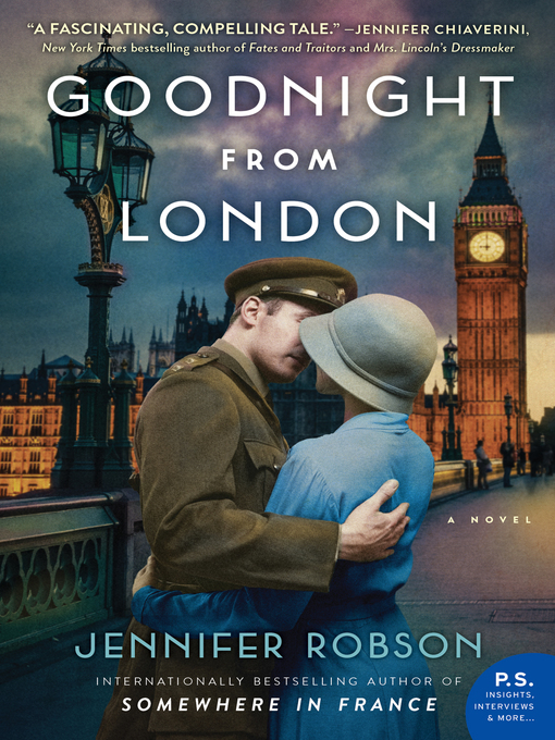 Title details for Goodnight from London by Jennifer Robson - Wait list