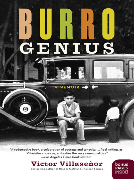 Title details for Burro Genius by Victor Villasenor - Available