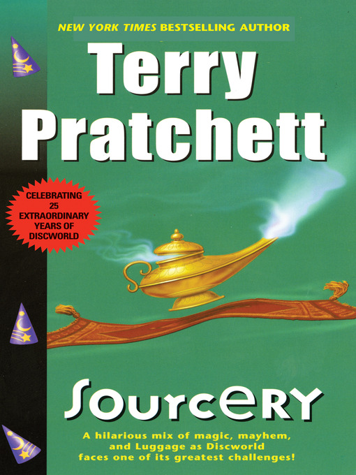 Title details for Sourcery by Terry Pratchett - Wait list