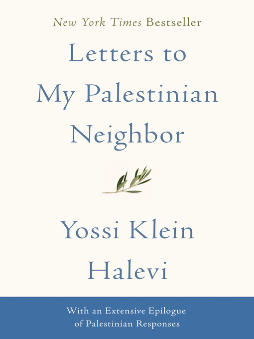 Cover of Letters to My Palestinian Neighbor