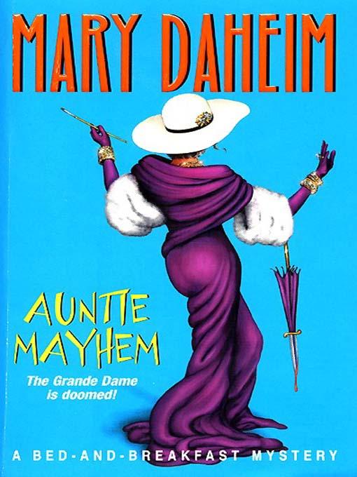 Title details for Auntie Mayhem by Mary Daheim - Wait list