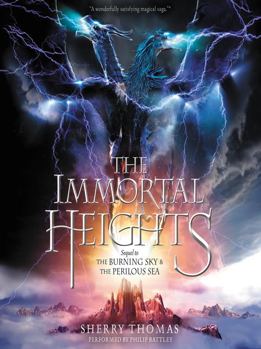 Title details for The Immortal Heights by Sherry Thomas - Wait list