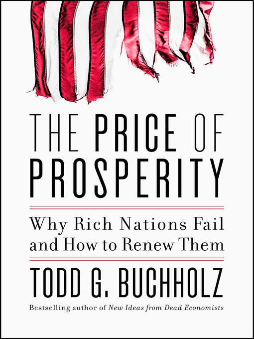 Cover of The Price of Prosperity