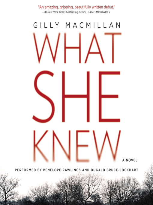 Title details for What She Knew by Gilly MacMillan - Available